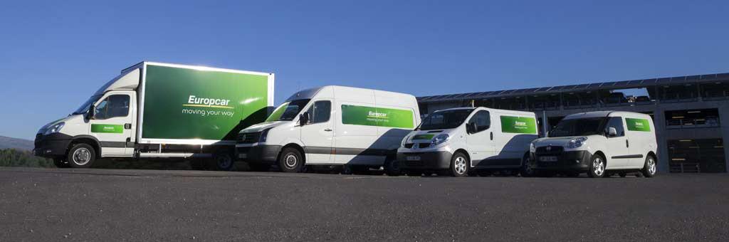 europcar van hire